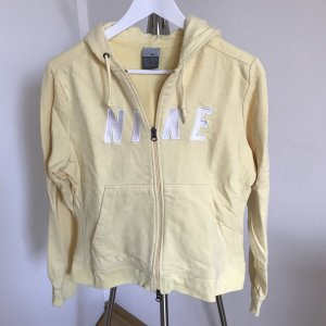 Nike Sweat Jacket pale yellow