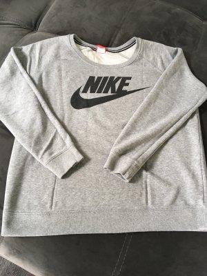 Nike Felpa grigio chiaro-nero