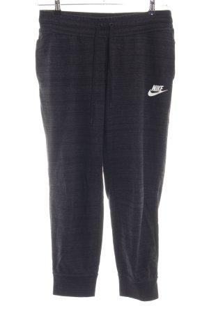 Nike Pantalone fitness nero puntinato stile casual