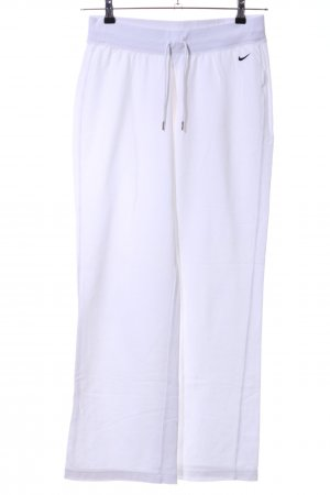 Nike Sweat Pants white printed lettering casual look