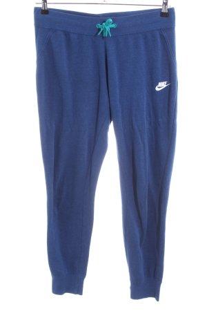 Nike Sweat Pants blue casual look