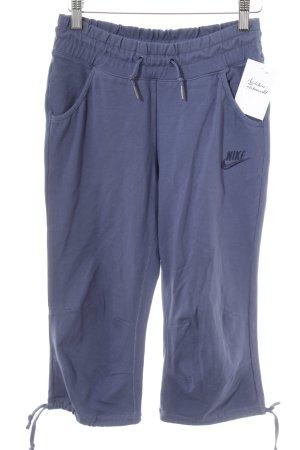 Nike Sweathose stahlblau Casual-Look