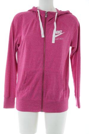 Nike Sweat Jacket pink casual look