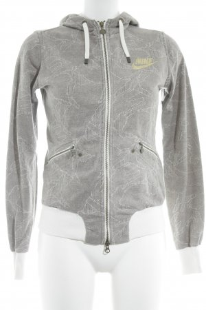 Nike Sweatjacke abstraktes Muster Casual-Look