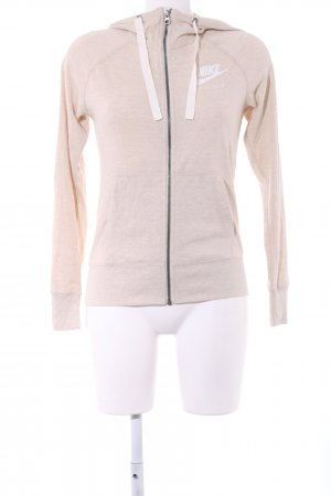 Nike Sweatjacke creme Casual-Look