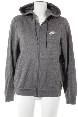 Nike Veste sweat gris style athlétique