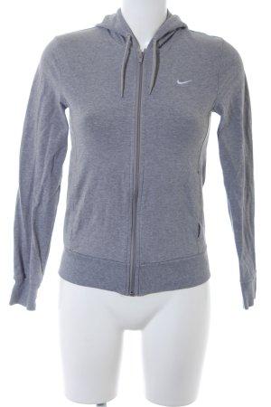 Nike Sweatjacke hellgrau sportlicher Stil