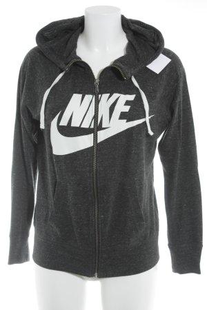 Nike Veste sweat moucheté style décontracté