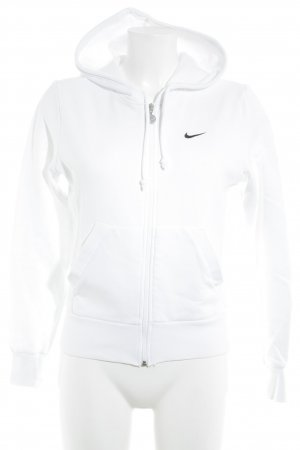 Nike Sweatjacke weiß sportlicher Stil