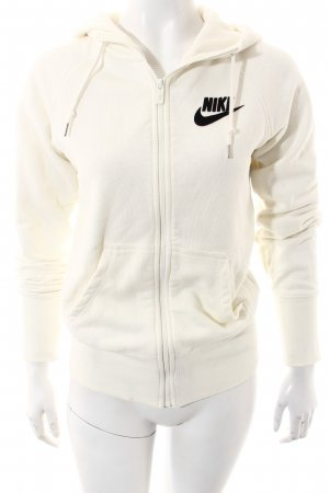 Nike Sweatjacke wollweiß Casual-Look