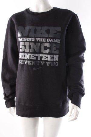 Nike Sweatpullover schwarz