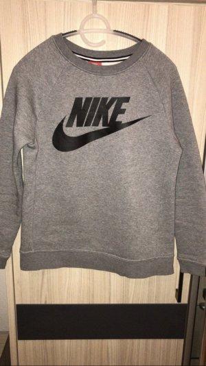 Nike Pull long noir-gris foncé
