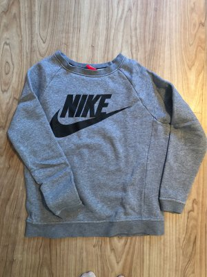 Nike Felpa grigio-nero