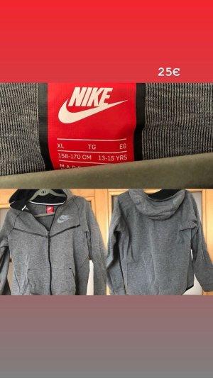 Nike Sweatjack grijs