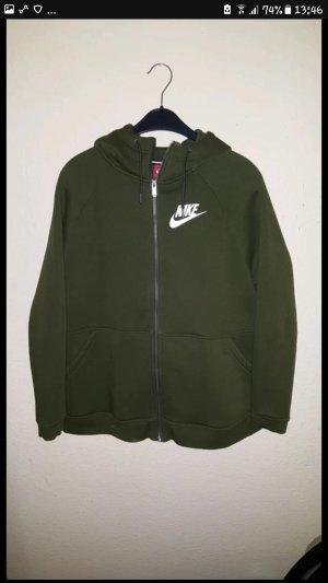 Nike Veste sweat gris vert