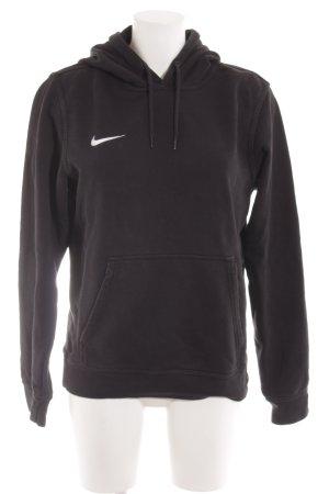Nike Sweatshirt zwart atletische stijl
