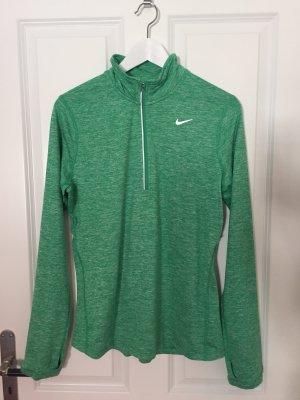 Nike Sweatshirt Sport funktionsshirt in grün