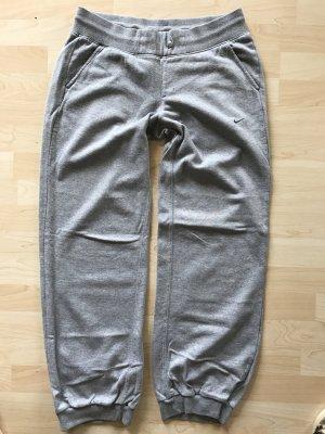 Nike Sweatshirthose Jogginghose Grau Gr L