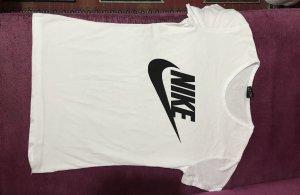 Nike T-shirt bianco-nero