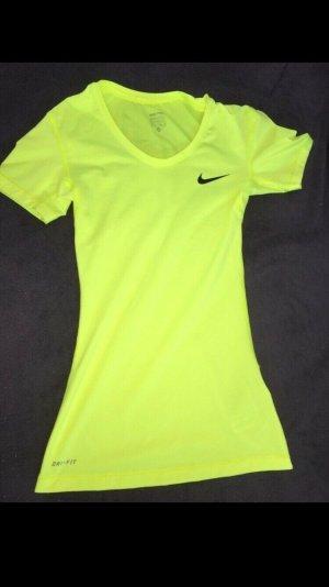 Nike Sports Shirt neon yellow-yellow
