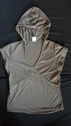 Nike T-shirt marrone-grigio