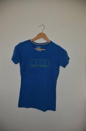 NIKE T-Shirt blau Gr.S