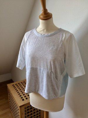 Nike T Shirt blau weiß