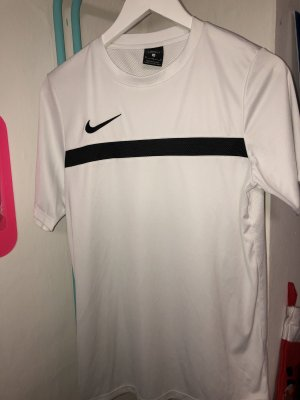 Nike Shirt white-black