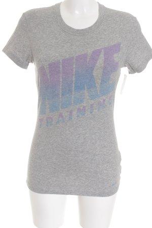Nike T-Shirt grau Casual-Look
