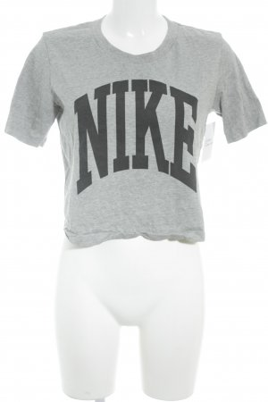 Nike T-Shirt grau Casual-Look