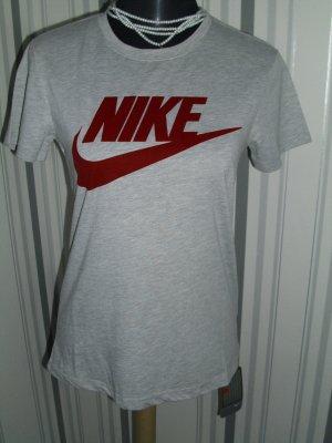 Nike T-Shirt Größe 34 (XS) hell-grau