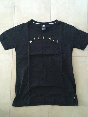 Nike T-shirt nero-color oro rosa