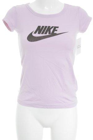 Nike T-Shirt hellrosa-schwarz sportlicher Stil
