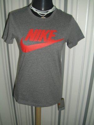 Nike T-shirt gris coton
