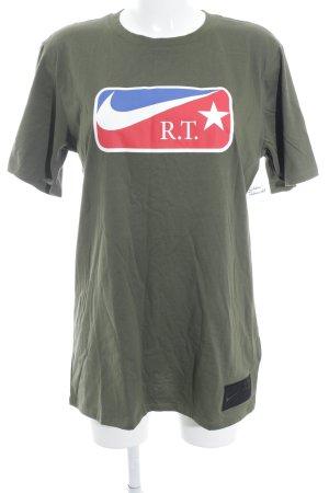 Nike T-Shirt khaki sportlicher Stil