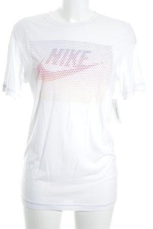 Nike T-Shirt mehrfarbig sportlicher Stil
