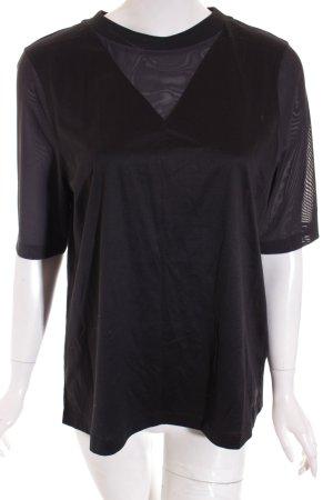 Nike T-Shirt schwarz sportlicher Stil