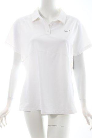 Nike T-Shirt weiß sportlicher Stil