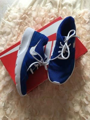 Nike Lace-Up Sneaker blue-white