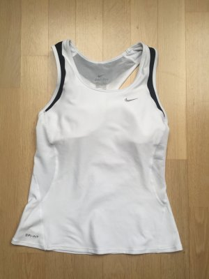 Nike Tank-Top weiß, Damen, Fitness Dri-Fit