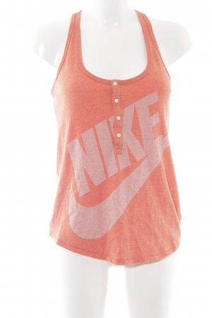 Nike Tanktop dunkelorange sportlicher Stil