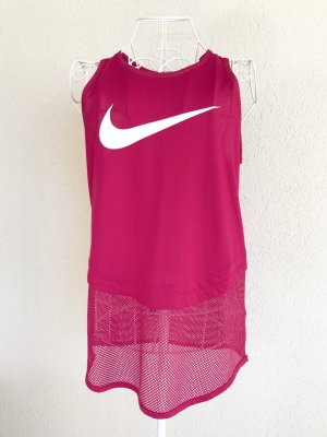 Nike Sporttop framboosrood Polyester