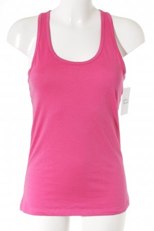 Nike Camiseta sin mangas rosa estilo deportivo