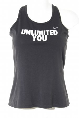 Nike Tank Top printed lettering street-fashion look