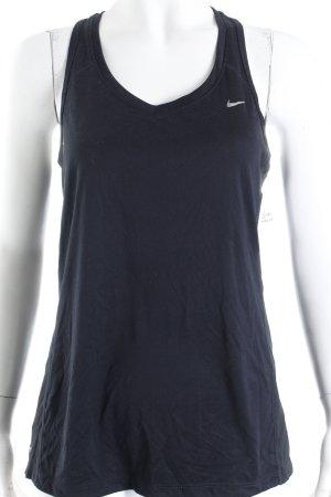 Nike Tanktop schwarz sportlicher Stil