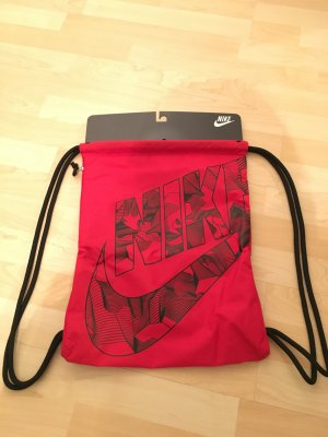 Nike Tasche Rucksack NEU rot Sportbeutel