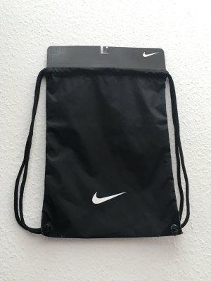 Nike Tasche Sportbeutel Gym Bag Schwarz Weiß neu