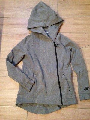 Nike Tech Fleece Damen Jacke Cape Größe S grau