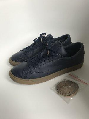 Nike Sneaker stringata beige-blu scuro