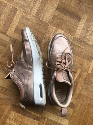 Nike Lace-Up Sneaker rose-gold-coloured-white